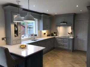 Grey In-Frame Kitchen