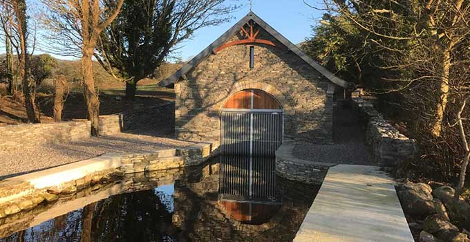 Eddie Connolly Builders Nenagh Boat House construction