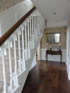 bespoke painted staircase
