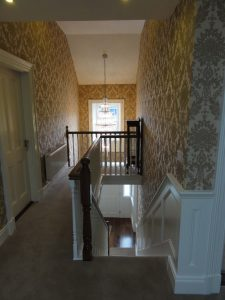 wainscoting and paneling