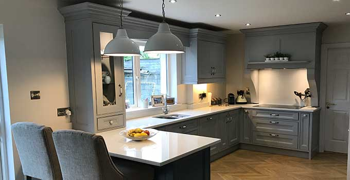Eddie Connolly Builders Bespoke In-frame kitchen