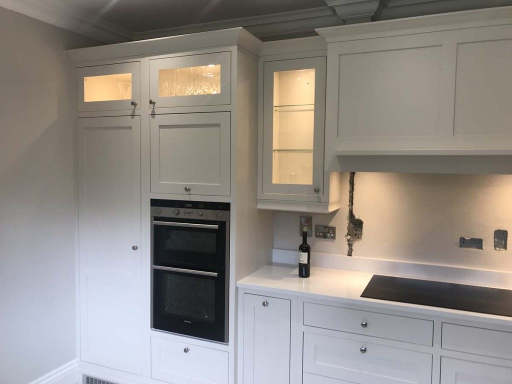 INFRAME KITCHEN IN SKIMMING STONE